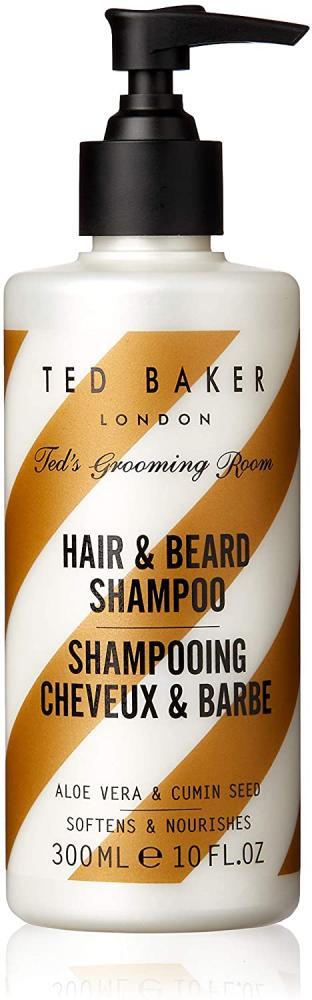 Ted Baker Teds Grooming Room Hair and Beard Shampoo 300 ml
