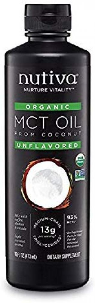 Nutiva Unflavored MCT Oil 473ml