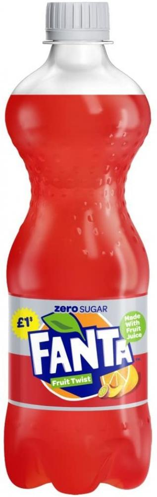 Fanta Zero Fruit Twist 500ml