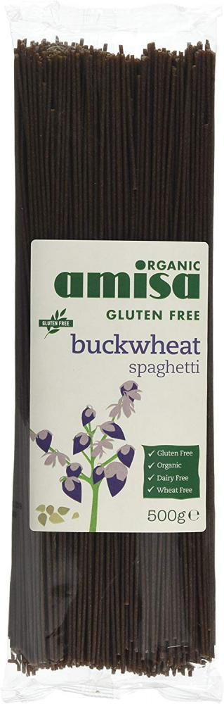 Amisa Organic Buckwheat Spaghetti 500 g