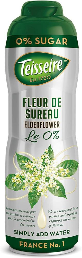 Teisseire Sugar Free Cordial Elderflower 60cl