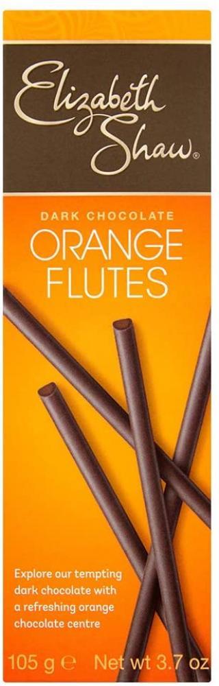 Elizabeth Shaw Dark Chocolate Orange Flutes 105g