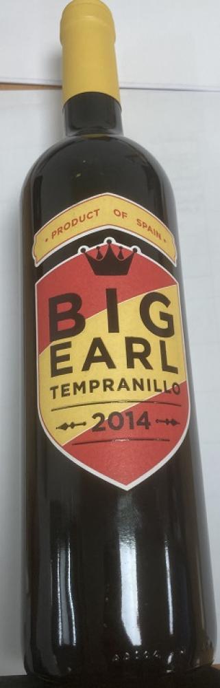 Big Earl Tempranillo 2014 750ml