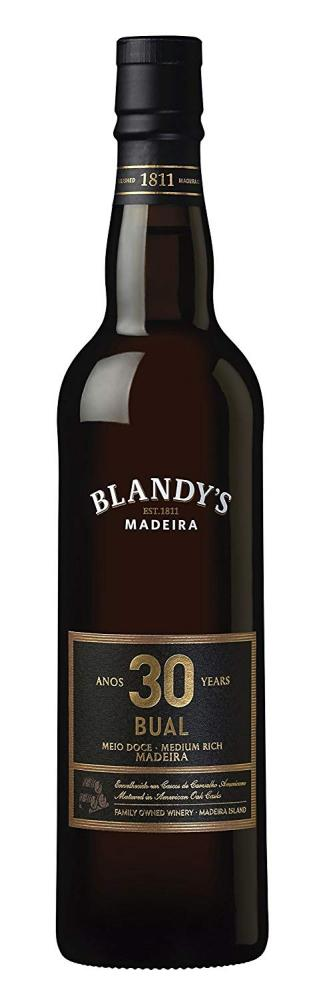 Blandys 30 Years Old Bual Madeira Wine 500ml