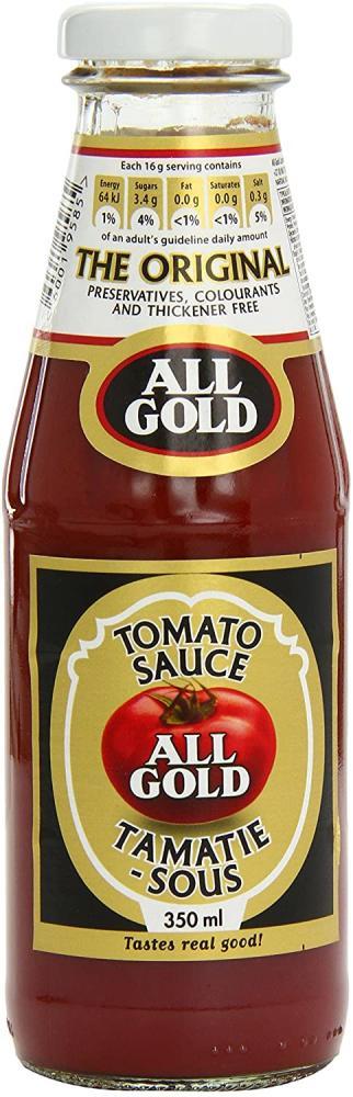 All Gold Tomato Sauce 350 ml