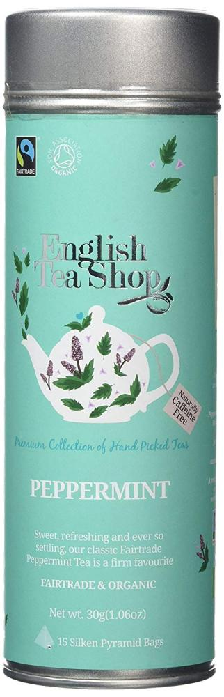 English Tea Shop Peppermint 15 Pyramid Bags 30g