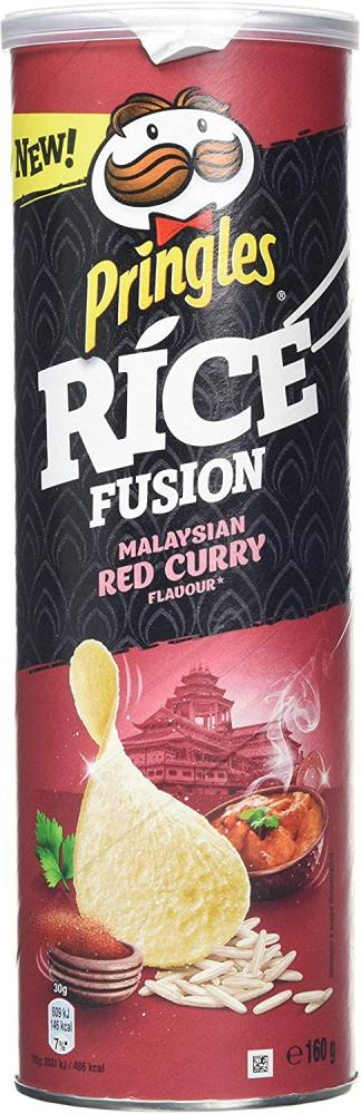 SALE  Pringles Rice Fusion Malaysian Red Curry 160g