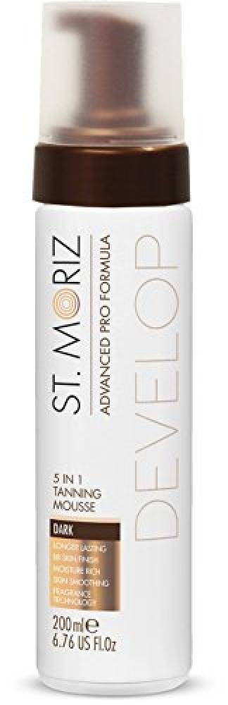 St Moriz Advanced Pro Formula 5-in-1 Tanning Mousse Dark 200 ml