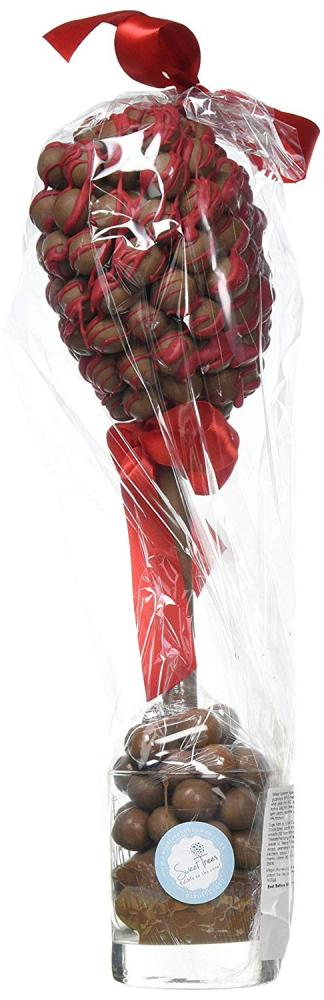 Sweet Tree by Browns Malteser Heart Red Drizzle Sweet Tree I Love You 35 cm