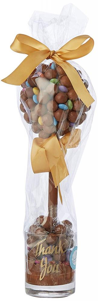 Sweet Trees Sweet Tree by Browns Maltesers and Smarties Personalised Thank You 35 cm