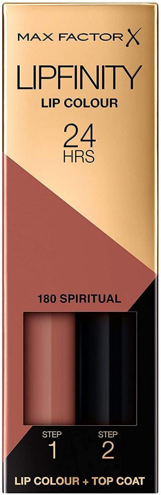 Max Factor Lipfinity Long-Lasting Two Step Lipstick 180 Spiritual Brown