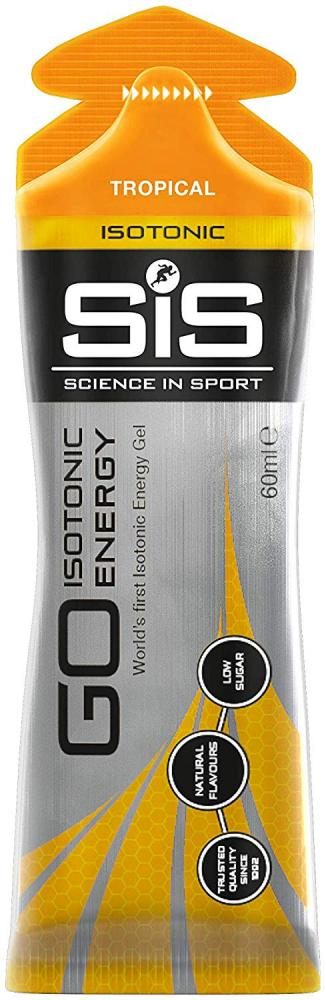 SALE  Science In Sport Go Isotonic Energy Gel Tropical 60ml