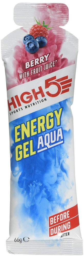 High 5 Sports Nutrition Energy Gel Aqua Berry 66g