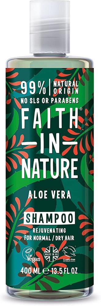 Faith In Nature Natural Aloe Vera Shampoo 400 ml