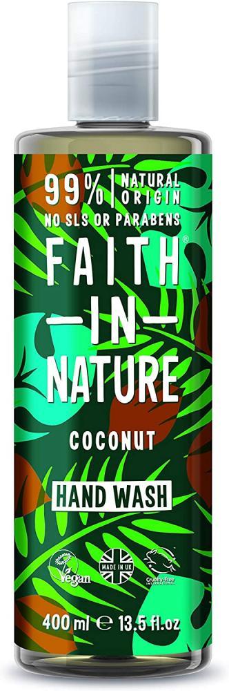 Faith In Nature Natural Coconut and Vitamin E Hand Wash 400 ml