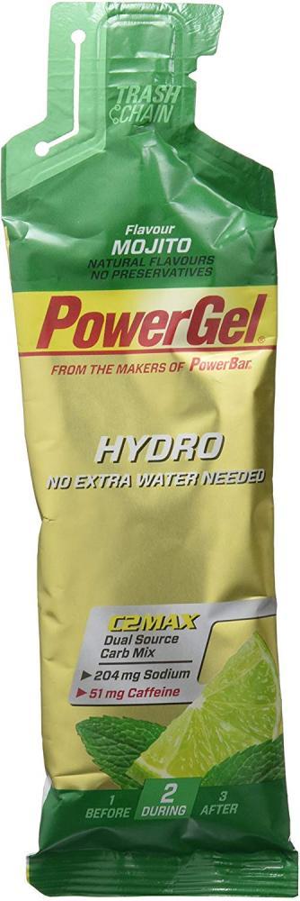PowerBar PowerGel Hydro Energy Gel Mojito with Caffeine 67 ml