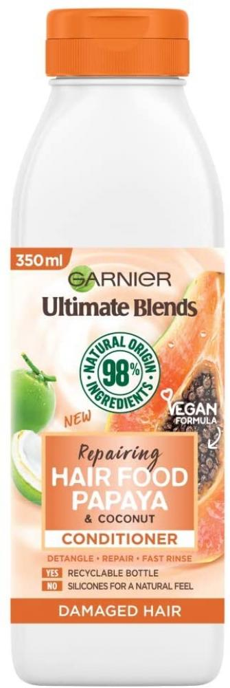 Garnier Ultimate Blends Conditioner For Damaged Hair Papaya and Coconut 350 ml