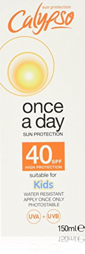 Calypso Once A Day Sun Protection SPF40 150g