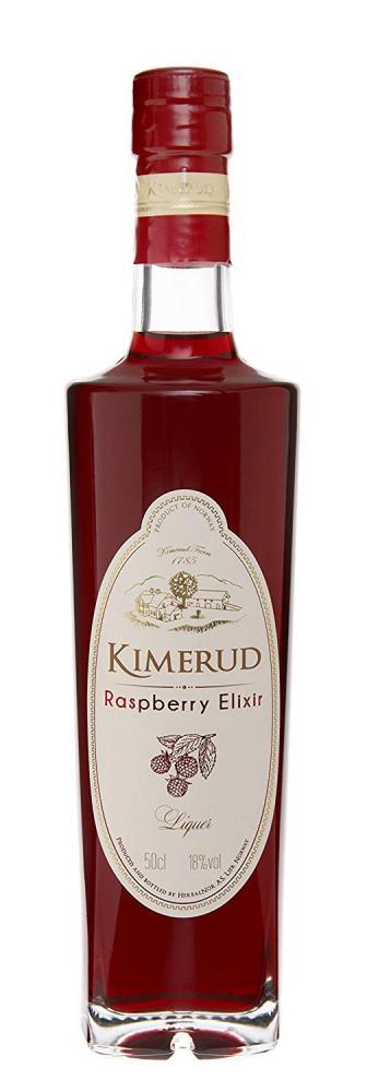 Kimerud Raspberry Elixir Liqueur 50cl