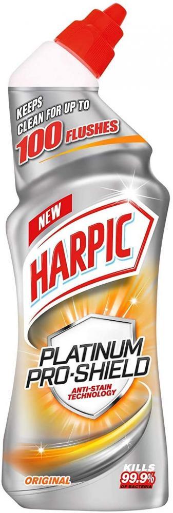 Harpic Platinum Pro Shield Toilet Cleaner Gel 750ml