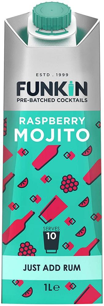 Funkin Pro Raspberry Mojito Pre-Made Cocktail Mix 1L