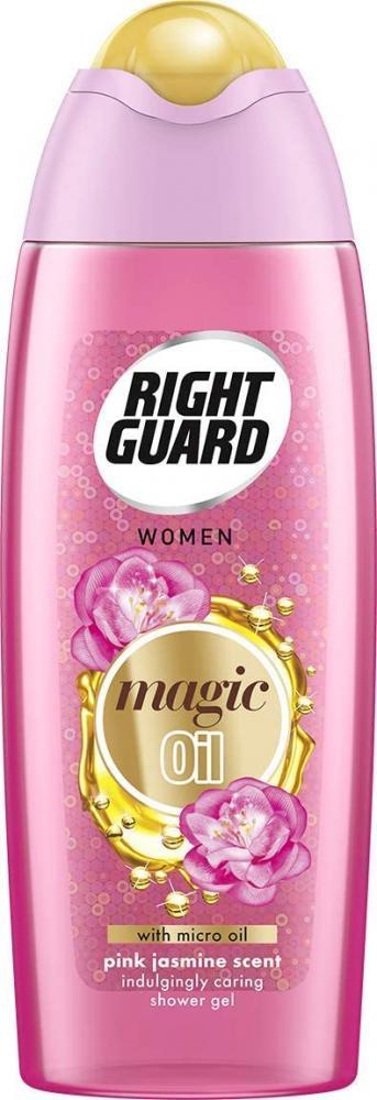 Right Guard Women Magic Oils Pink Jasmine Shower Gel 250 ml