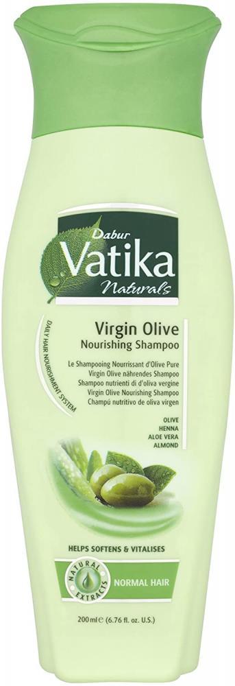 Vatika Naturals Virgin Olive Nourishing Shampoo Normal Hair 200 ml