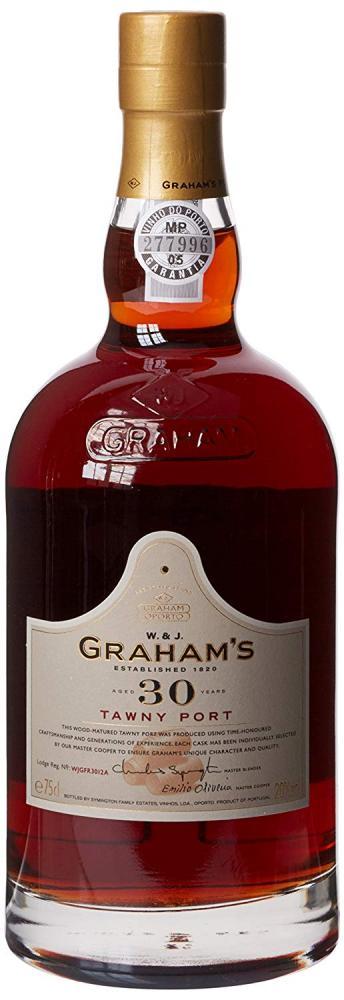 Grahams 30 Year Old Tawny Port Wine 75cl No Box