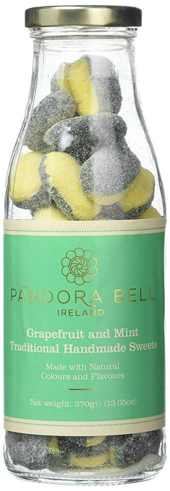 Pandora bell Grapefruit and Mint Traditional Handmade Sweets 370g