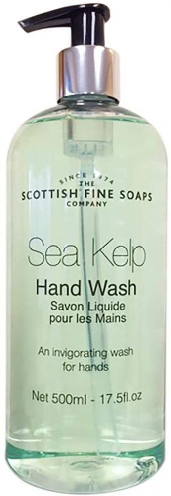 Scottish Fine Soaps Sea Kelp Liquid Soap Hand Wash Green 500ml
