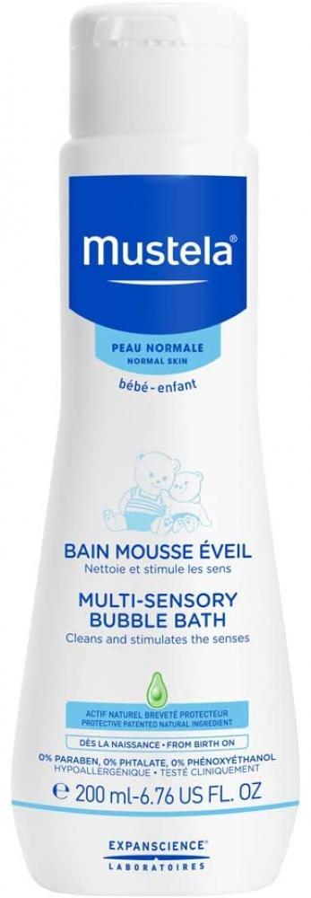 Mustela Multi-Sensory Bubble Bath 200 ml