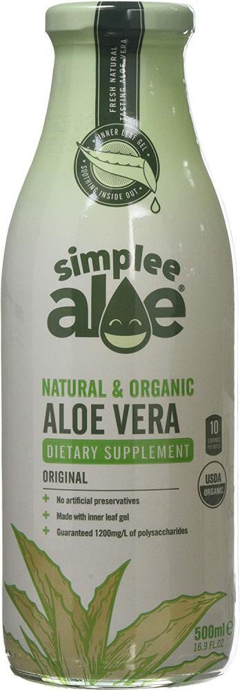 Simplee Aloe Natural and Organic Aloe Vera Original Juice