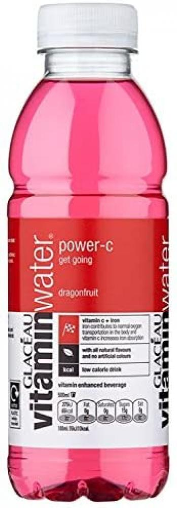 WEEKLY DEAL  Glaceau Vitamin Water Power C Dragonfruit 500ml
