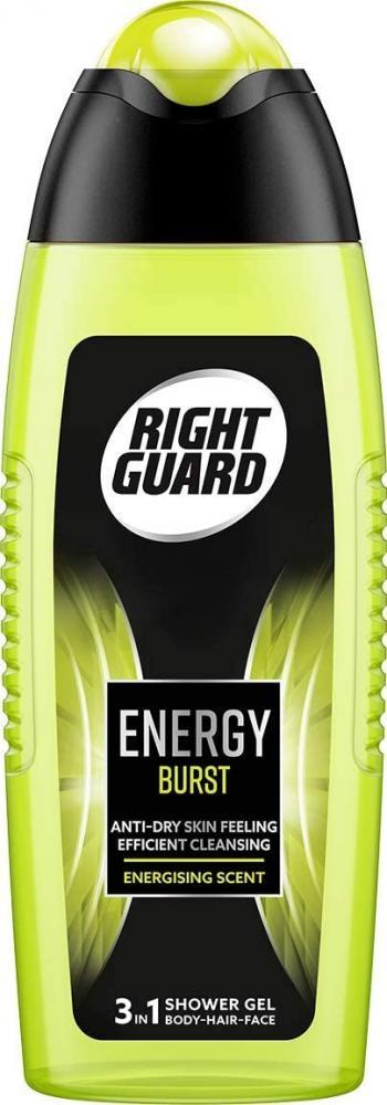 Right Guard 3-in-1 Shower GelEnergy Burst 250ml