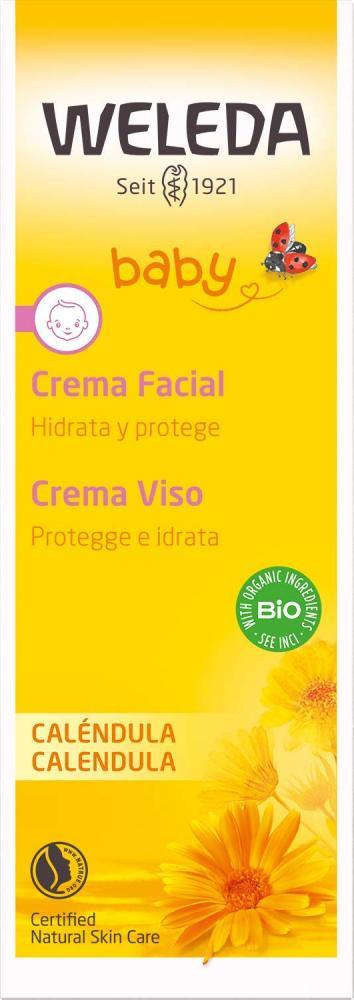 Weleda Calendula Baby Facial Cream 50 ml