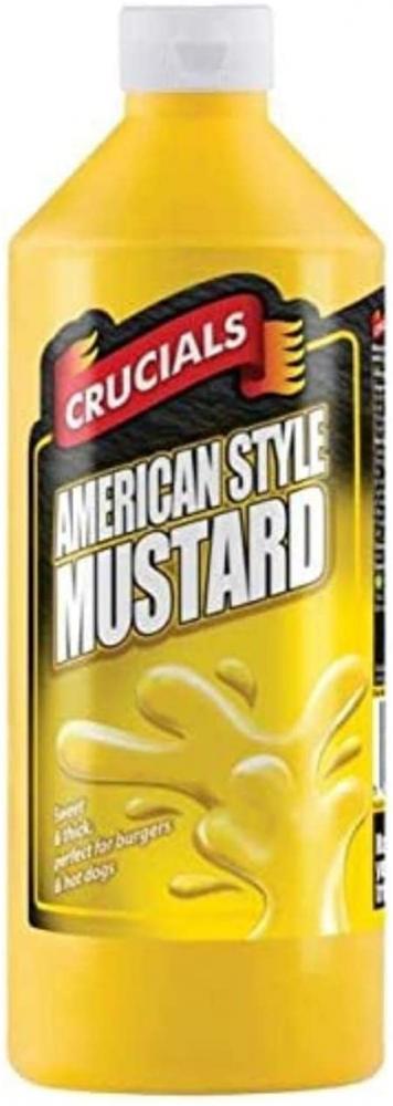 Crucials American Style Mustard 500ml