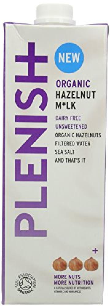 Plenish Organic 5 Percent Hazelnut Milk 1 Litre