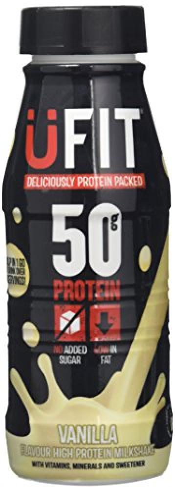 Ufit Pro 50 High Protein Shake Drink Vanilla Flavour 500ml