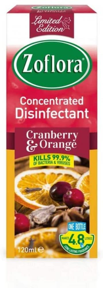 Zoflora Concentrated Disinfectant Cranberry and Orange 120ml