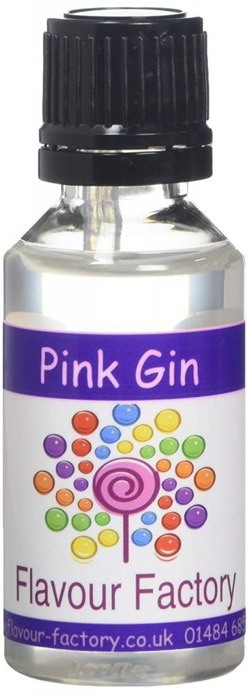 Flavour Factory Pink Gin Extra Strong Concentrates 3 x 28.5 ml