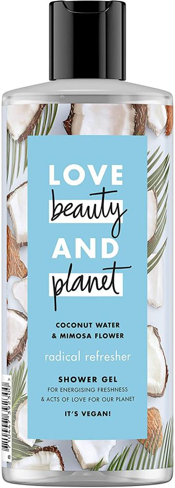 Love Beauty and Planet Coconut Water and Mimosa Flower Vegan Shower Gel 500 ml
