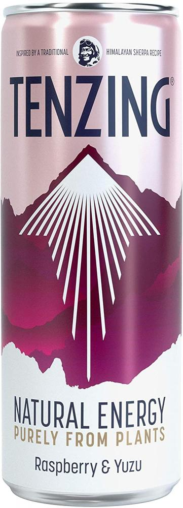 Tenzing Natural Energy Drink with Raspberry and Yuzu 250ml