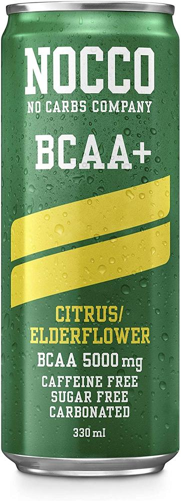Nocco BCAA Citrus Elderflower 5000mg 330ml