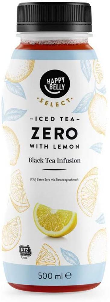 MEGA DEAL  Happy Belly Iced Tea Lemon Zero 500ml
