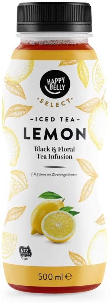 Happy Belly Select Iced Tea Lemon 500ml