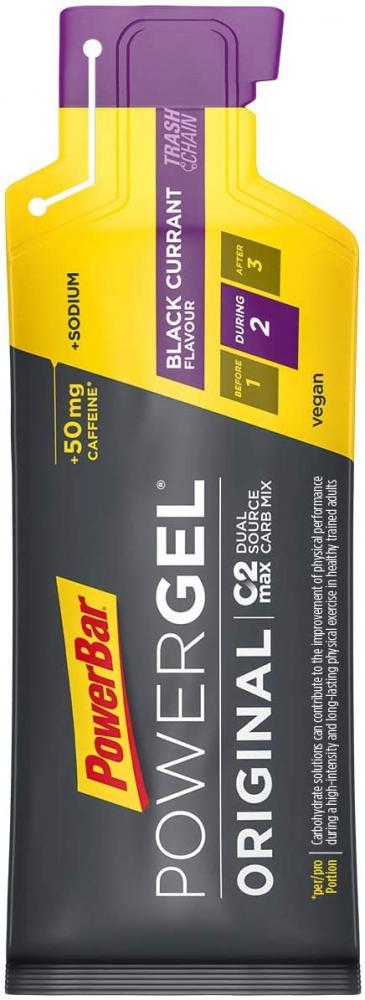 Power Bar Original Black Currant High Carb Energy Gel 41g