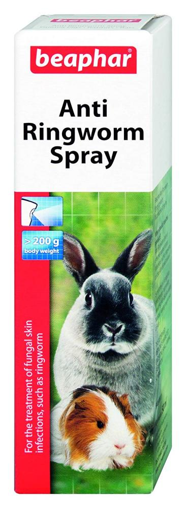 Beaphar Anti-Ringworm Spray For Small Animals 50 ml