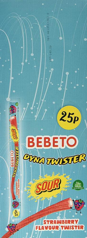 Bebeto Sour Dyna Twister Strawberry