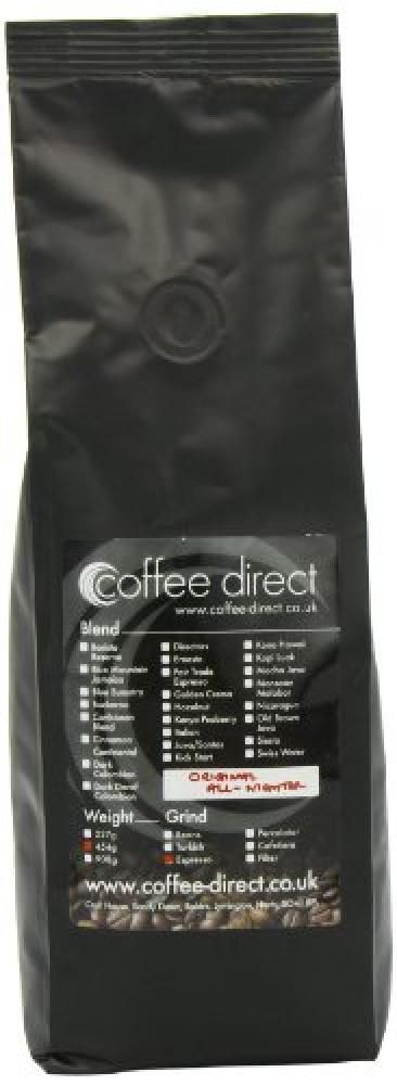 Coffee Direct Original All Nighter Coffee Espresso Grind 454 g