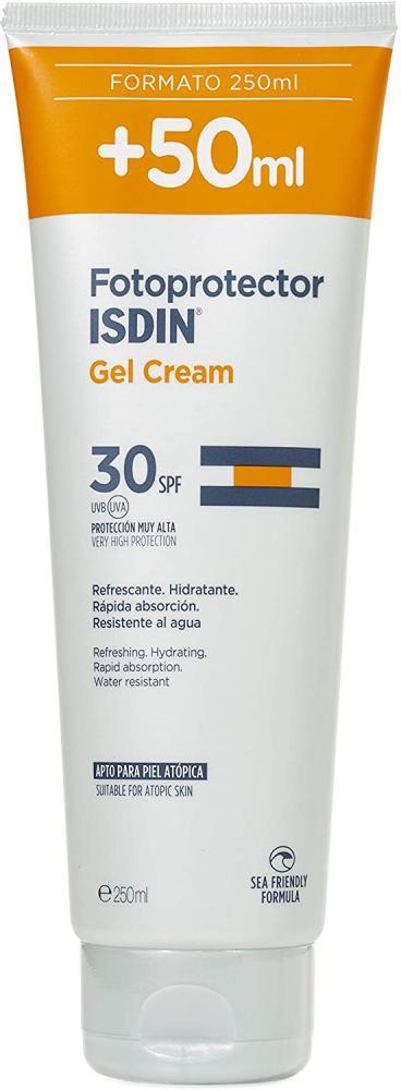 ISDIN Sun Gel Cream SPF 30 250ml